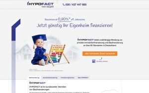Landingpage HYPOFACT