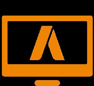 Icon für Google AdWords auf Desktop