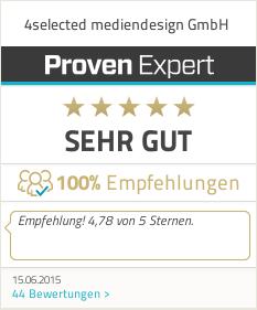 ProvenExpert Bewertungssiegel