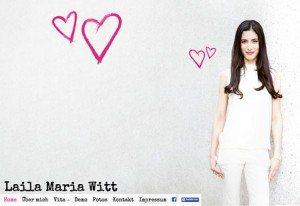 Website Laila Maria Witt