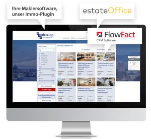Immobilienangebote hochwertig präsentiert auf Immobilien-Website