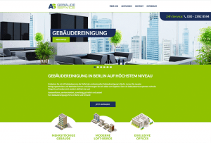 Referenz Webdesign by 4selected für Gebäudeservice