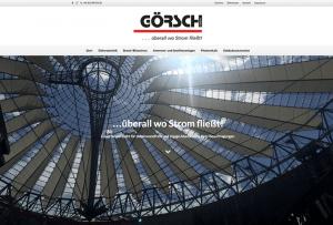 Referenzseite Webdesign für Elektrotechnik
