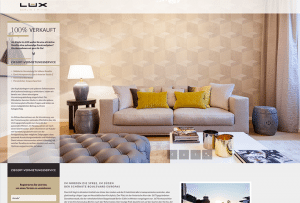 Referenzseite Webdesign Immobilien
