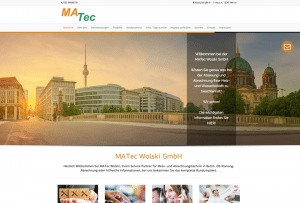 Referenz Webdesign by 4selected für Messtechnik