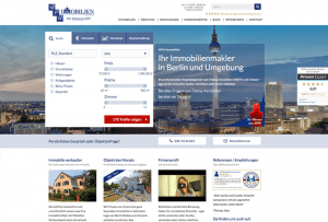 Referenzseite Webdesign by 4selected für Immobilienmakler