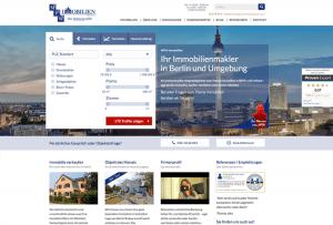 Referenzseite Webdesign by 4selected für Immobilienmakler