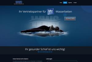 Referenzseite Webdesign Wasserbetten Vetrieb