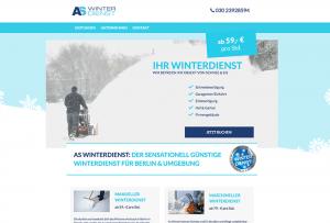 Webdesign für einen Winterdienst in Berlin